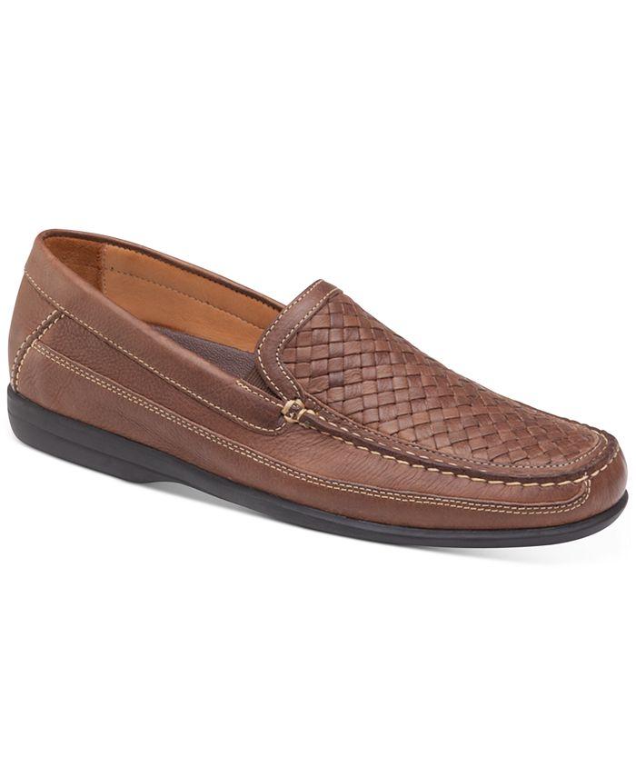 Johnston & Murphy - Men's Locklin Woven Venetian Loafers
