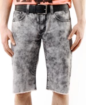 Marc Ecko Cut  Sew Shorts BleachOut CutOffs