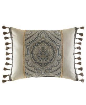 """Croscill Hannah 20"""" x 16"""" Boudoir Pillow"""