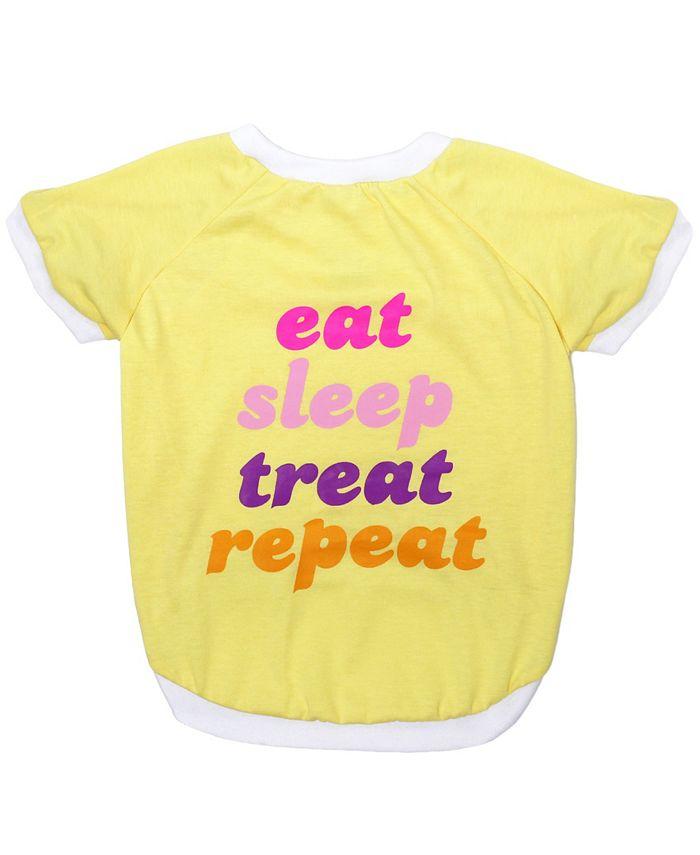 Pets First - Pet Tee - Eat Sleep Treat Repeat Xl