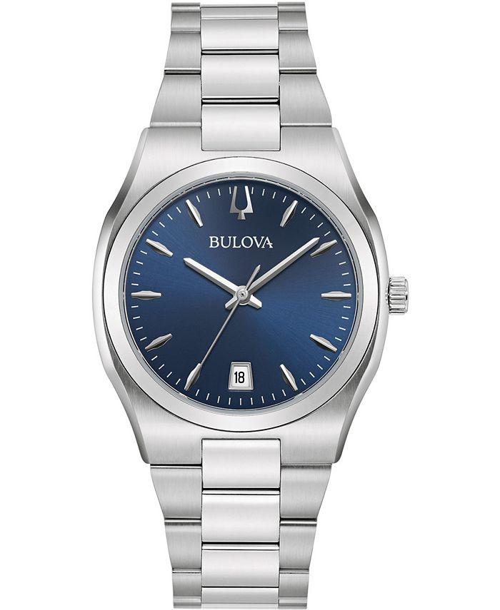 Bulova - Women's Classic Stainless Steel Bracelet Watch 34mm