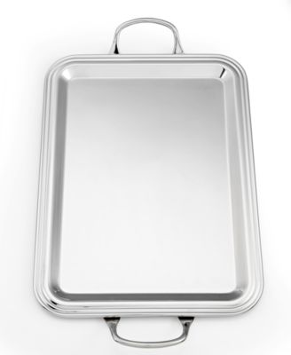 CLOSEOUT! Martha Stewart Collection Barware, Stainless Steel Bar Tray