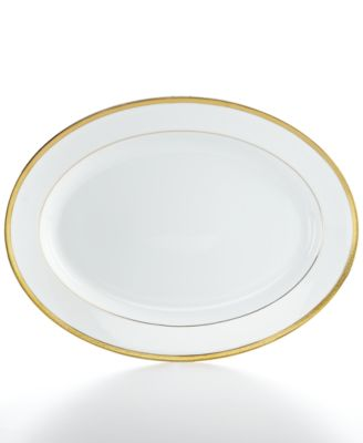 "Charter Club Dinnerware, 15.5"" Grand Buffet Gold Platter"