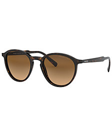 Prada Men's Polarized Sunglasses, PR 05XS