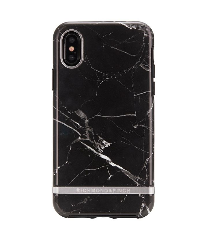 Richmond&Finch - Black Marble case for iPhone XS MAX