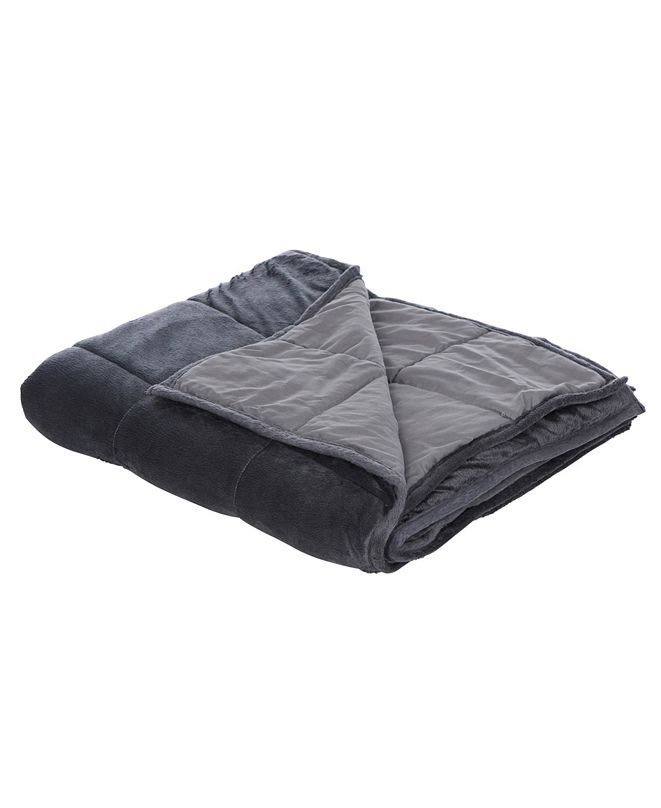 Therapy Home Comfort Plush Weighted Blanket, 10lb