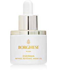 Borghese Energia Retinol Renewal Night Oil, 1 fl. oz.