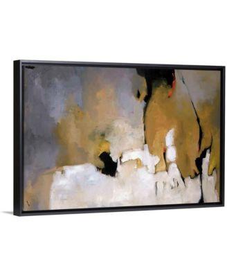 "'Inner Working' Framed Canvas Wall Art, 30"" x 20"""