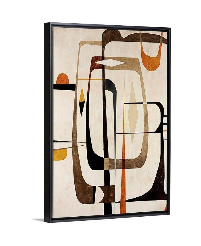"""GreatBigCanvas - 24 in. x 36 in. """"Strano Ma Vero II"""" by  Tony Wire Canvas Wall Art"""