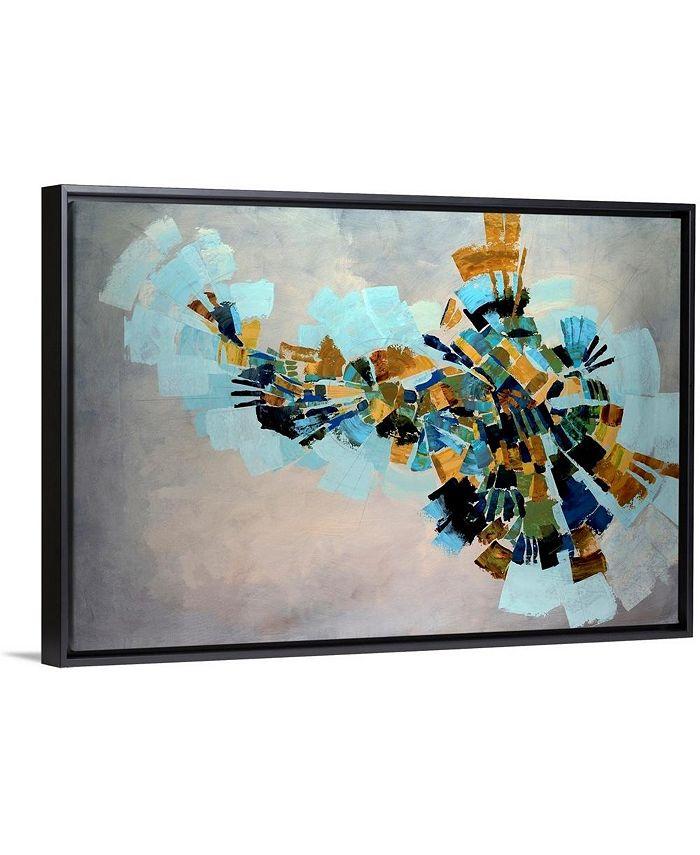 "GreatBigCanvas - 30 in. x 20 in. ""Kaleidoscope"" by  Kari Taylor Canvas Wall Art"