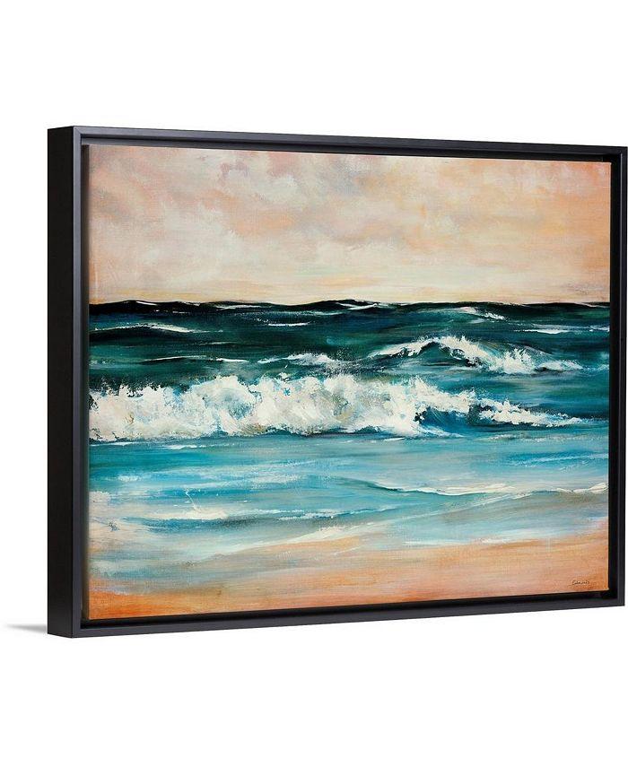 """GreatBigCanvas - 30 in. x 24 in. """"Ocean Light II"""" by  Sydney Edmunds Canvas Wall Art"""