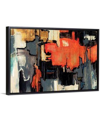 """30 in. x 20 in. """"Dalliance"""" by  Joshua Schicker Canvas Wall Art"""