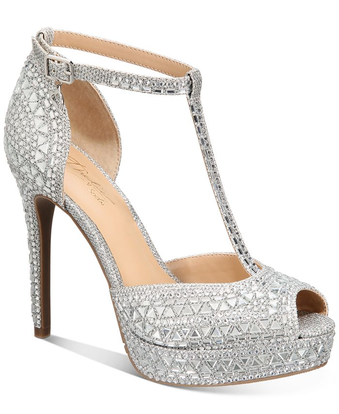 Thalia Sodi - Chace T-Strap Platform Heels