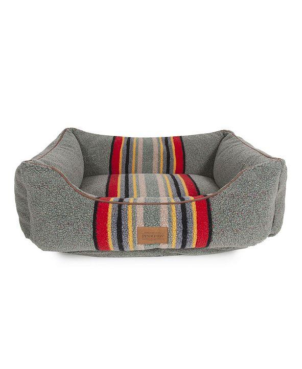 Pendleton Vintage-Like Camp Kuddler Dog Bed Collection