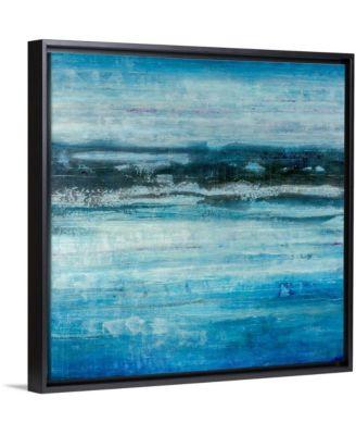 "36 in. x 36 in. ""Aquatic Life"" by  Joshua Schicker Canvas Wall Art"