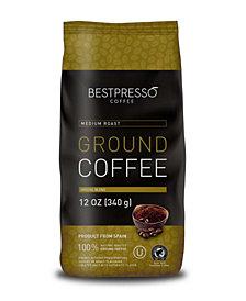 Bestpresso Medium Roast Flavor Ground Coffee, 3 pack of 12oz Bag