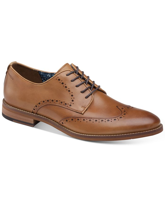 Johnston & Murphy - Men's Haywood Wingtip Oxfords