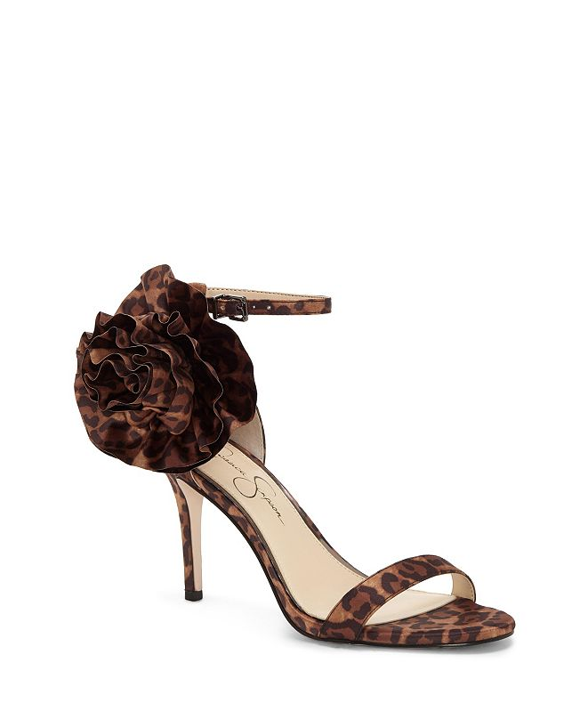 Jessica Simpson Ellira Strappy Flower Dress Sandals