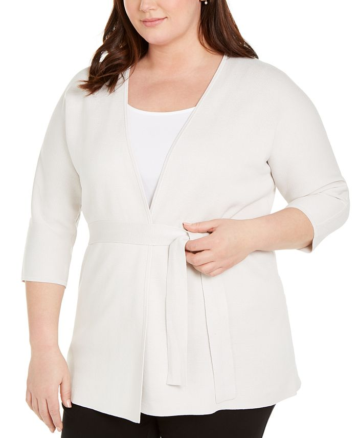 Eileen Fisher - Plus Size Organic Cardigan