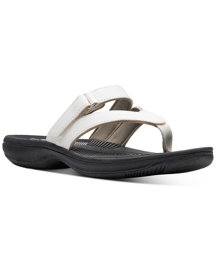 Clarks - Women's Brinkley Marin Flip-Flop Sandals
