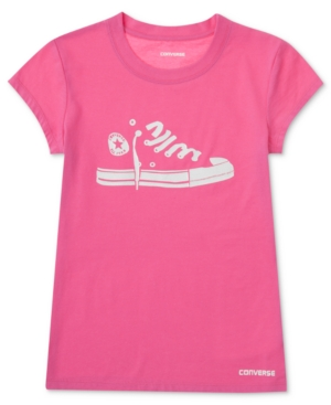 Converse Kids TShirt Girls Sneaker Graphic Tee