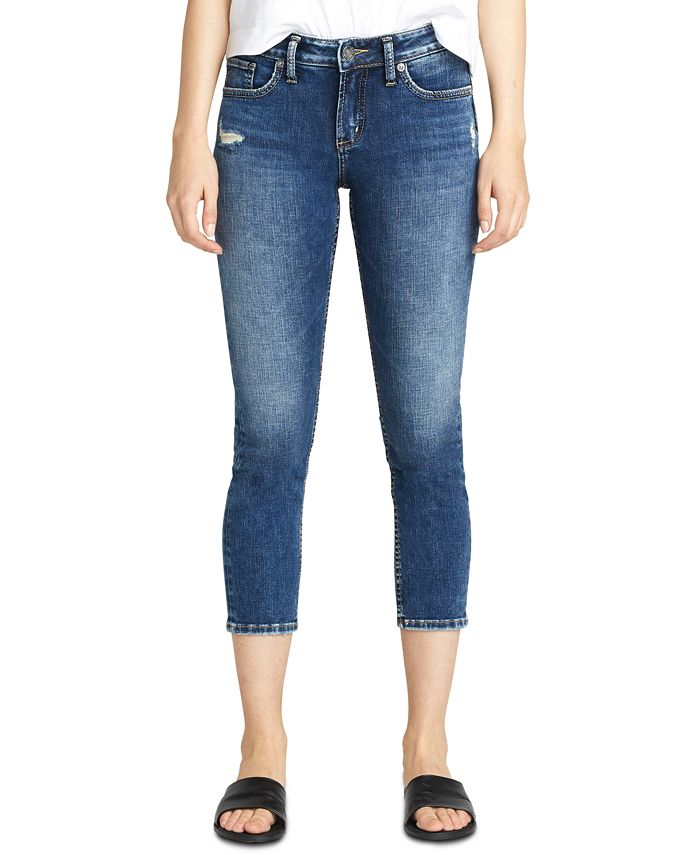 Silver Jeans Co. - Elyse Slim Cropped Jeans