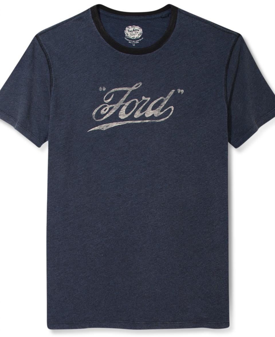Lucky Brand Jeans T Shirt, Vintage Ford Logo Short Sleeve T Shirt   T Shirts   Men