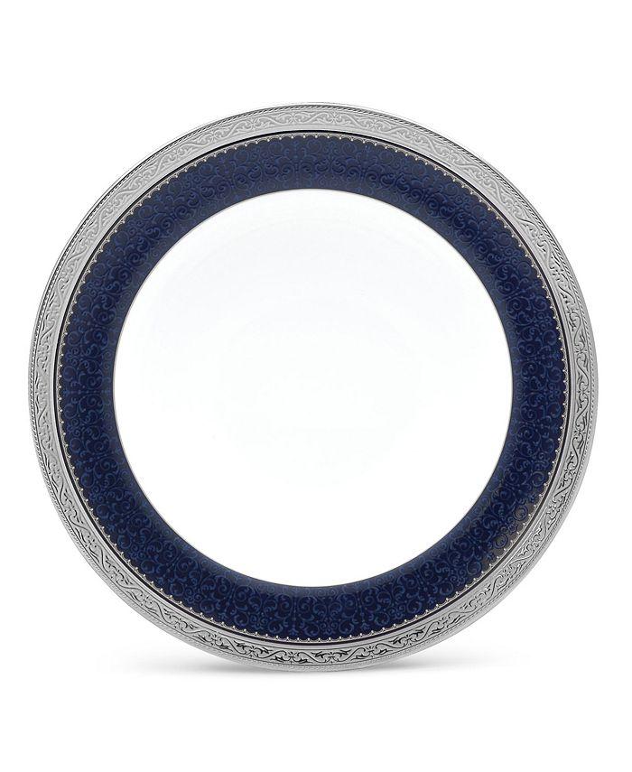 "Noritake - Odessa Cobalt Platinum Salad Plate, 8.5"""