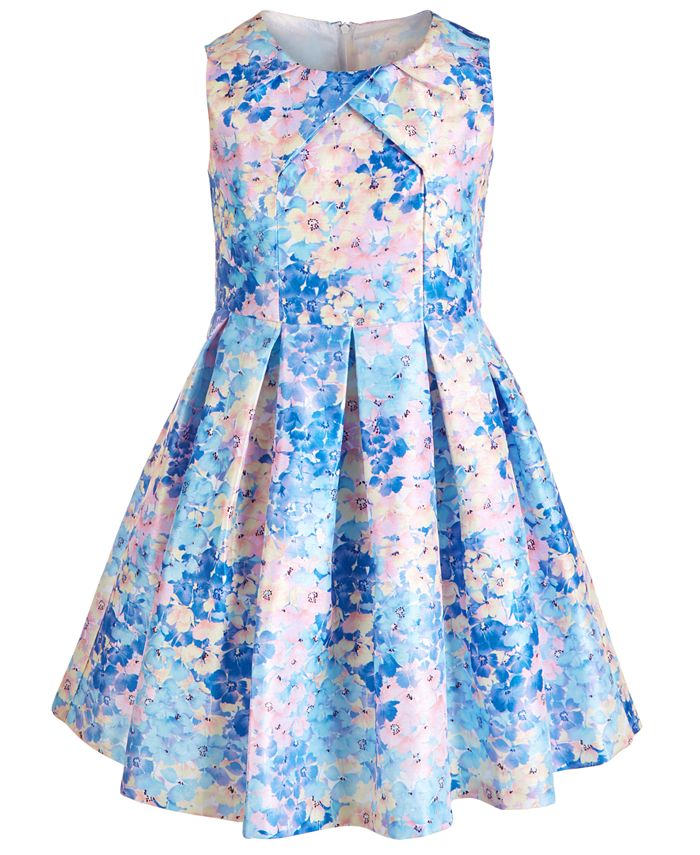Bonnie Jean - Big Girls Pleated Floral Dress