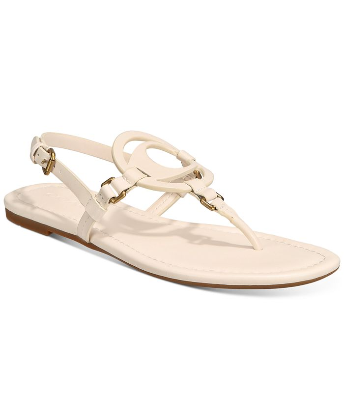 COACH - Women's Jeri Leather Sandals