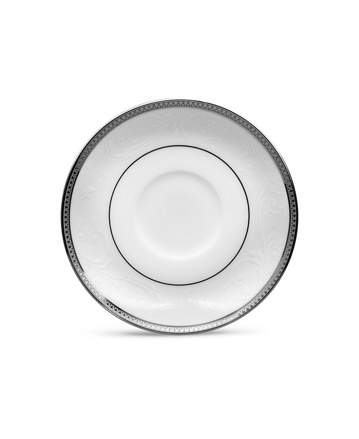 Noritake - Regina Platinum After Dinner Saucer