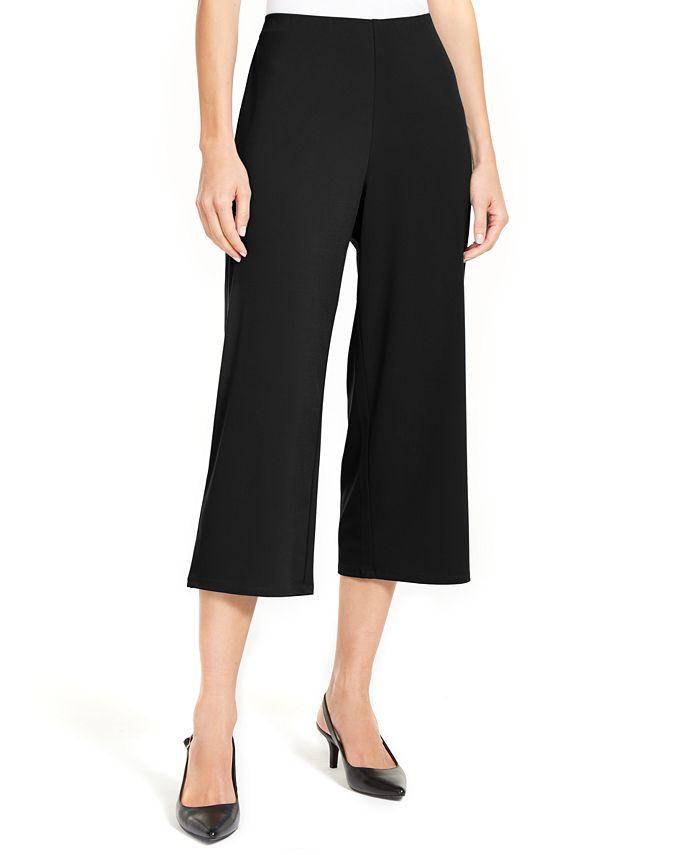 Alfani - Pull-On Culotte Pants