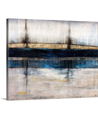 "'City Blue' Canvas Wall Art, 24"" x 20"""