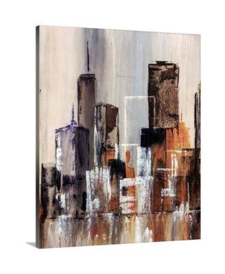 """'Coastal City I' Canvas Wall Art, 24"""" x 30"""""""