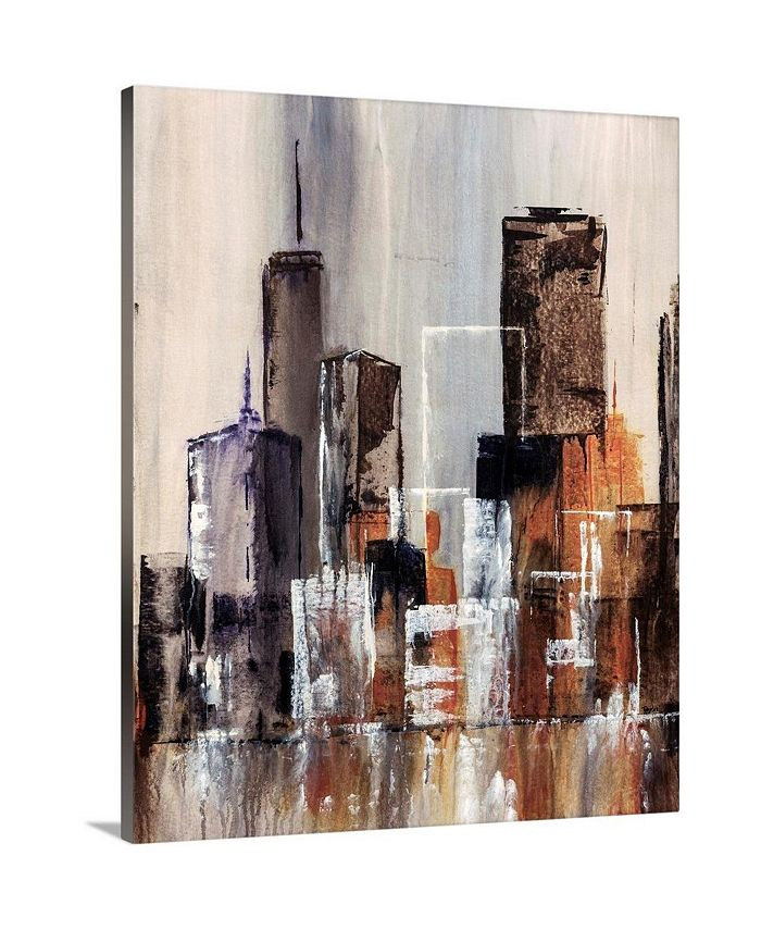 "GreatBigCanvas - 24 in. x 30 in. ""Coastal City I"" by  Kari Taylor Canvas Wall Art"