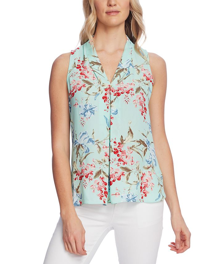 Vince Camuto - Inverted-Pleat Top