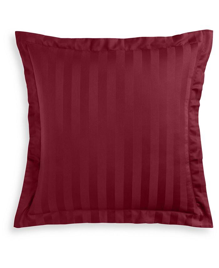 Charter Club - Damask Thin Stripe Cotton 550-Thread Count European Sham