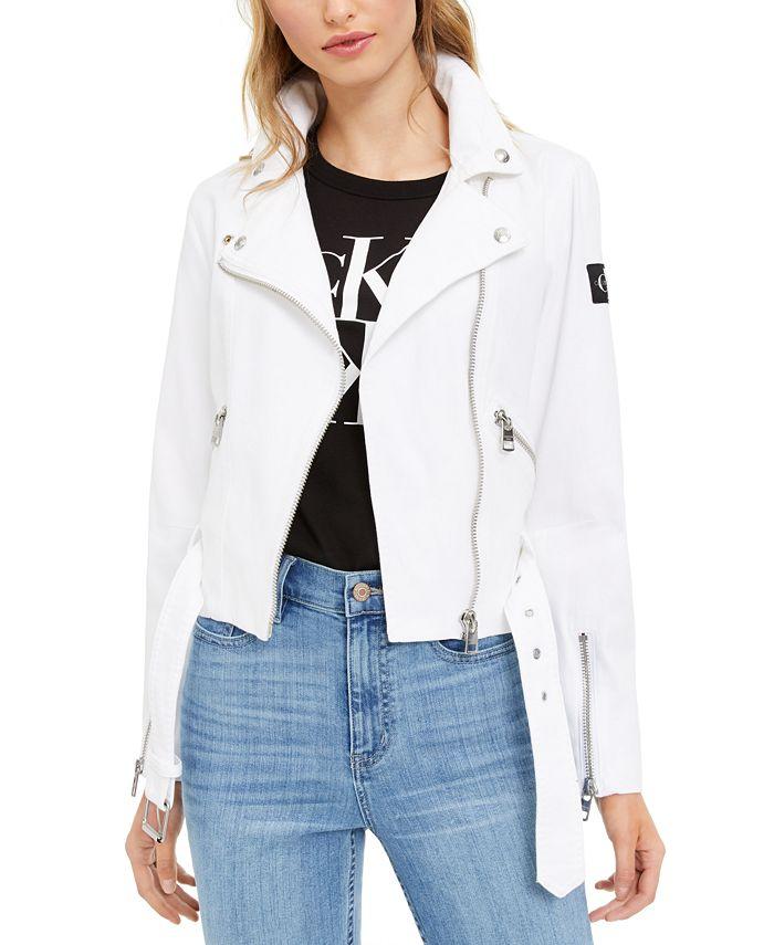 Calvin Klein Jeans - Canvas Moto Jacket