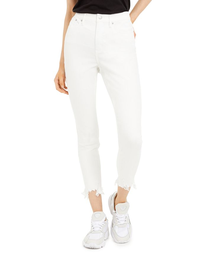 Calvin Klein Jeans - Distressed High-Rise Skinny Jeans