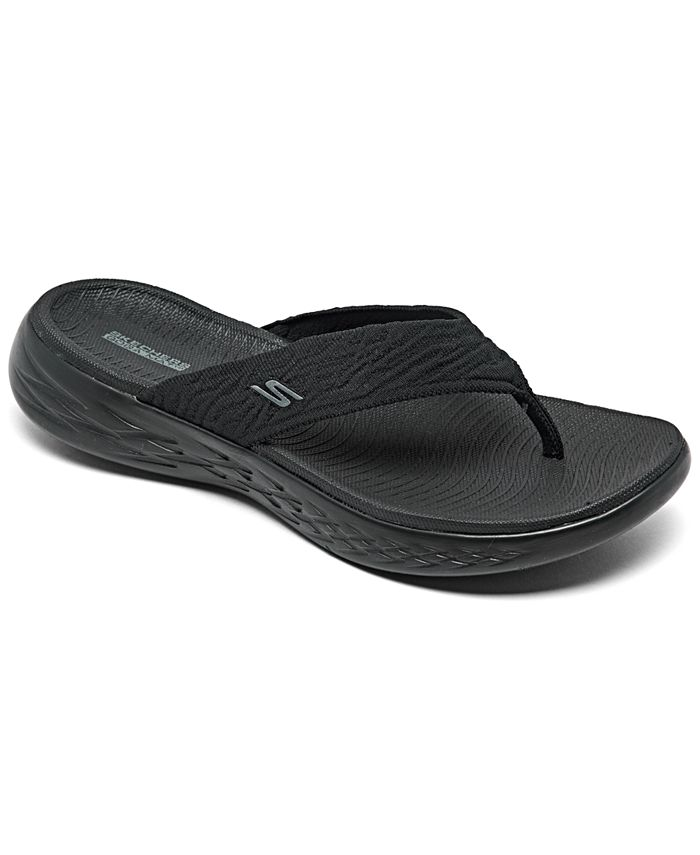 limpiar Multiplicación morir  Skechers Women's On The Go 600 Sunny Athletic Flip Flop Thong Sandals from  Finish Line & Reviews - Finish Line Athletic Sneakers - Shoes - Macy's