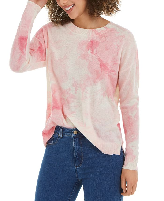 Charter Club - Printed Cashmere Sweater, Created For Macy's