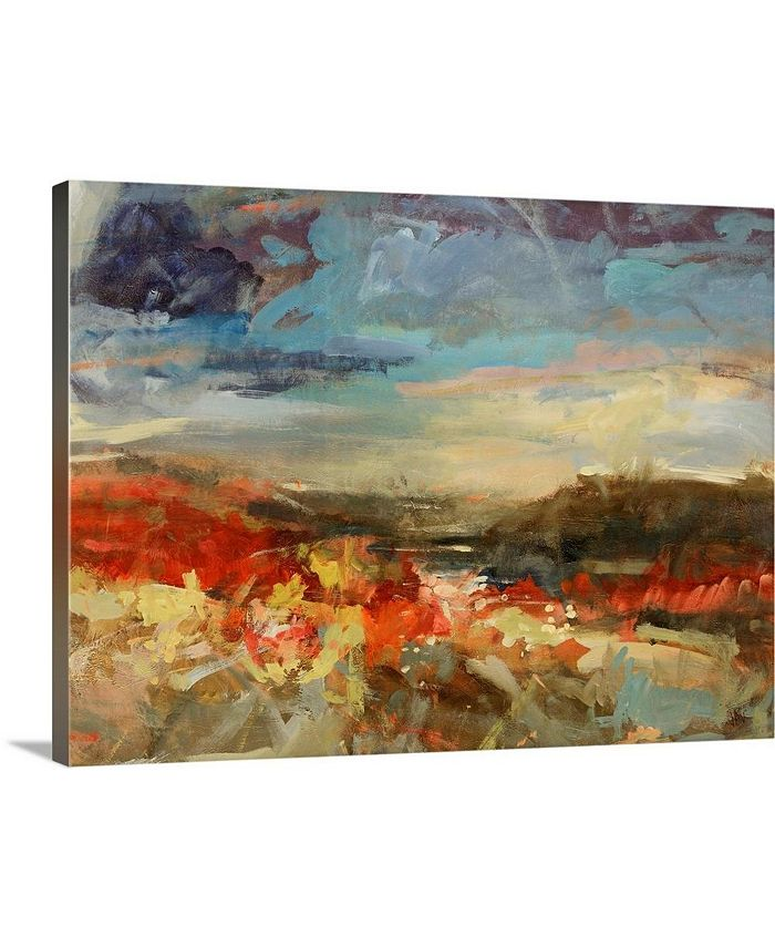 "GreatBigCanvas - 40 in. x 30 in. ""Landscape Study"" by  Jodi Maas Canvas Wall Art"