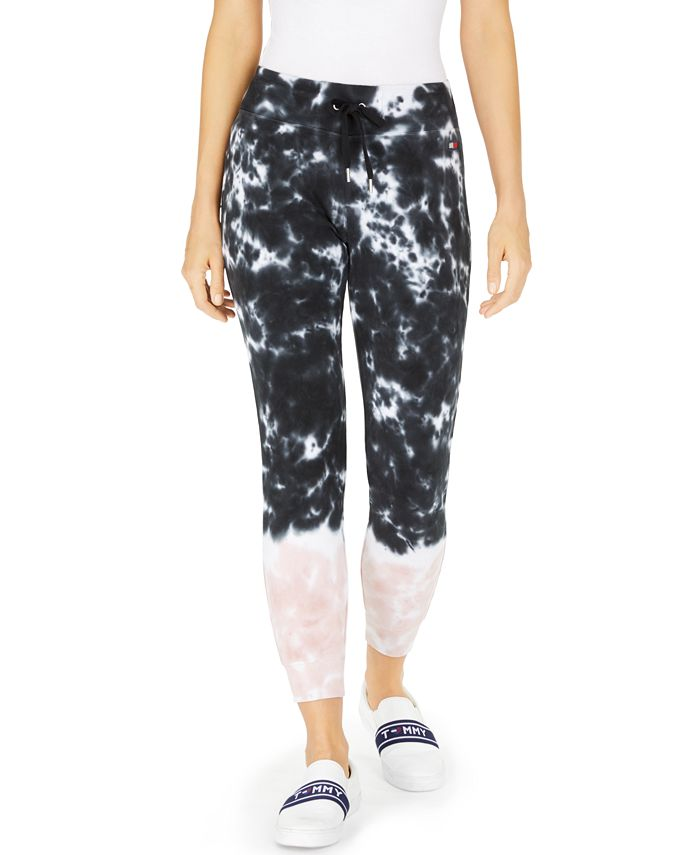 Tommy Hilfiger - Cotton Tie-Dyed Jogger Pants