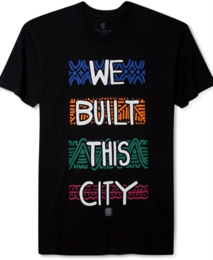 Rocawear TShirt We Built This City Short Sleeve TShirt