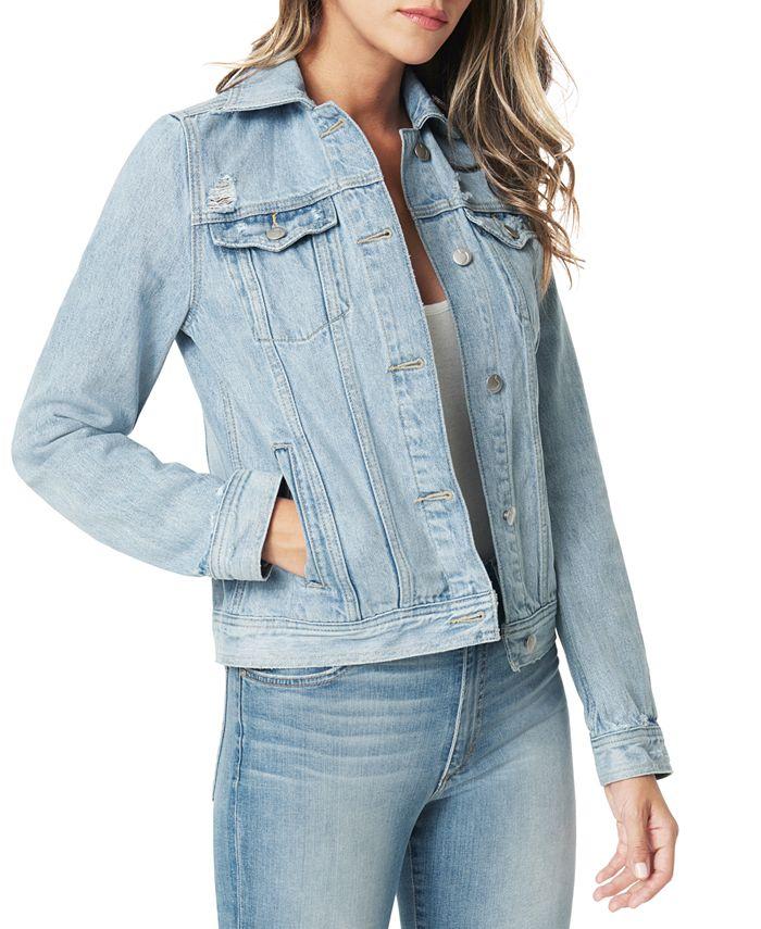 Joe's Jeans - Cotton Denim Trucker Jacket