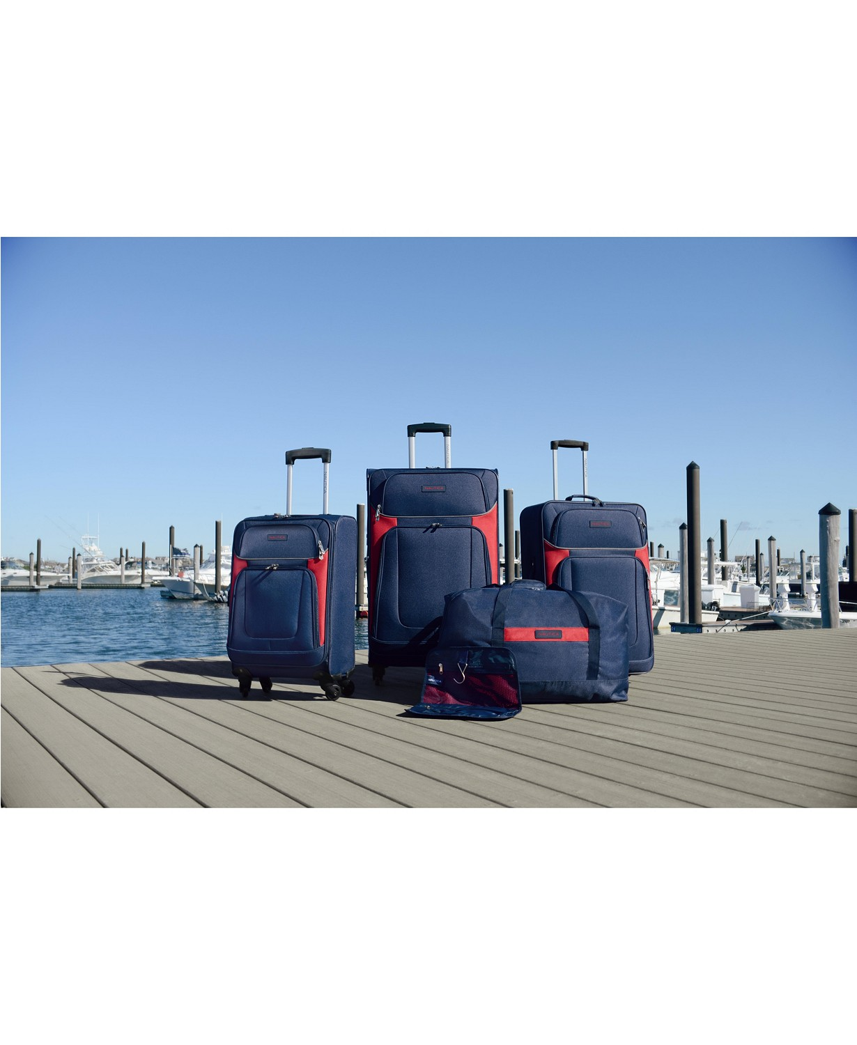 (70% OFF Deal) Nautica 5Pc. Luggage Set $149.99
