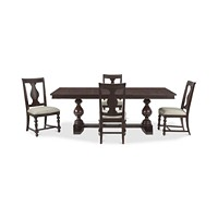 Deals on Rosemoor Rectangle Dining Furniture 5-Pc. Set