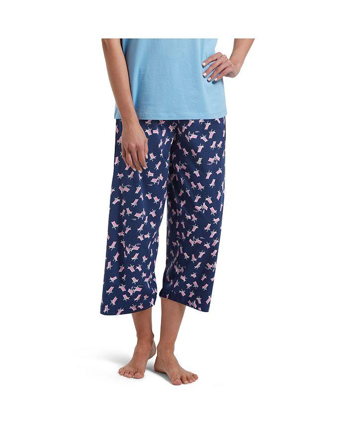 Hue - Temp Tech Beach Chair Cotton Pajama Pants
