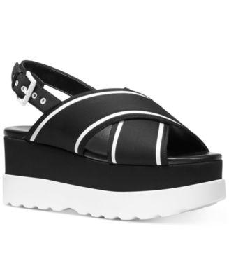 Michael Kors Becker Platform Sandals
