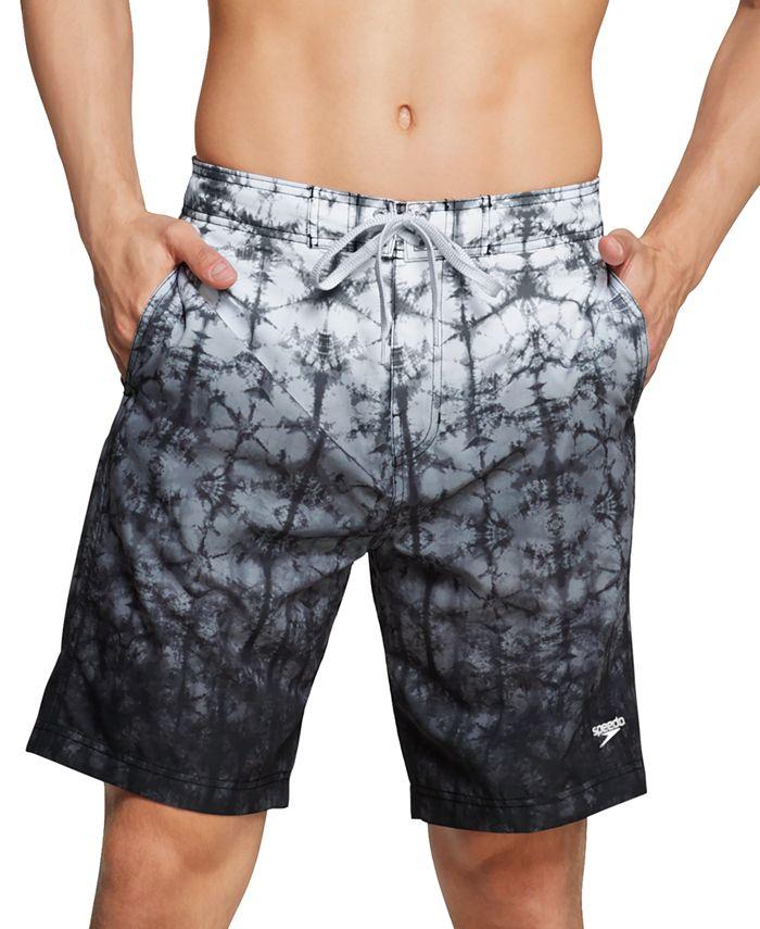 "Speedo - Men's Gradient Stretch 9"" E-Board Shorts"